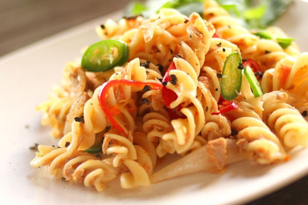 Spicy Tuna Fusilli