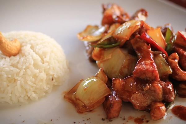 Kung Pao Pork Loin
